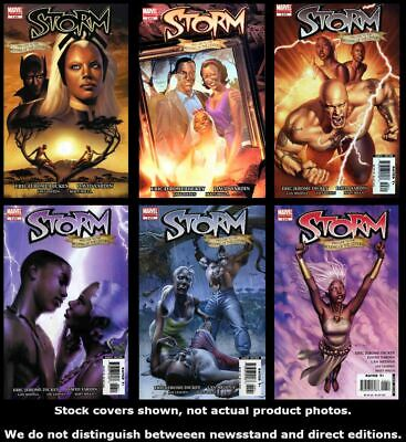 Storm (2nd Series) 1 2 3 4 5 6 Marvel 2006 Complete Set Run Lot 1-6 VF/NM