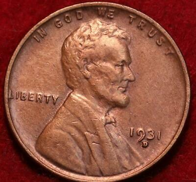 1931-D Denver Mint  Lincoln Wheat Cent