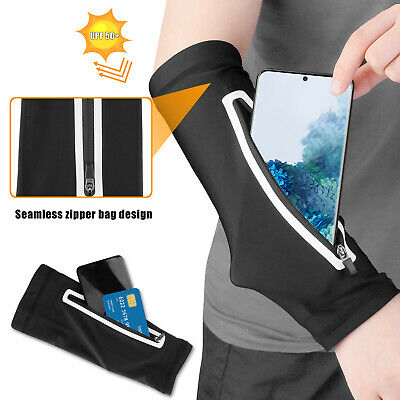 Armband Cell Phone Holder Pouch Bag Sleeve UV Protection Gym Running Jogging