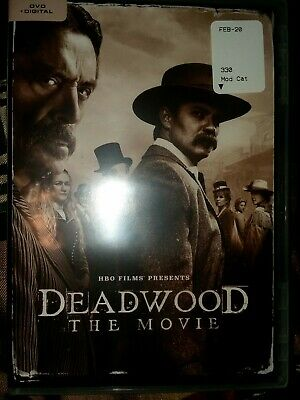 Deadwood: The Movie (DVD + DIGITAL 2019) Brand New, sealed