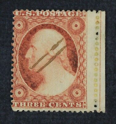 CKStamps: US Stamps Collection Scott#25 3c Washington Used Large HR