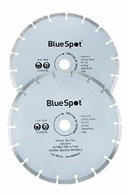 Blue Spot Tools 19549 2 Piece 9 Inch Diamond Cutting Disc Set not_applicable