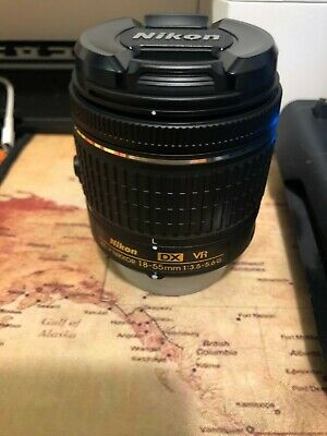 nikon af-p dx nikkor 18-55mm f/3.5-5.6g vr lens, New out of box (no box)