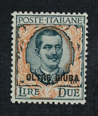 CKStamps: Italy Stamps Collection Oltre Giuba Scott#13 Mint NH OG Gum Disturb