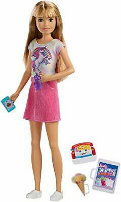 Barbie Babysitters Inc. Doll Blonde with Phone Baby Bottle for 3 to 7 Year Olds