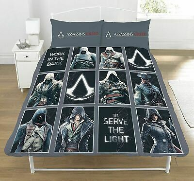 Assassins Creed Legacy Double Duvet Set Brand  New Reversible Bedding Official