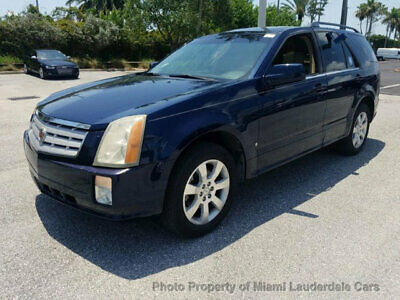 2007 Cadillac SRX 4dr V6 Cadillac SRX V6 2WD Low Miles Clean Carfax Panorama Sunroof Leather Fully Loaded