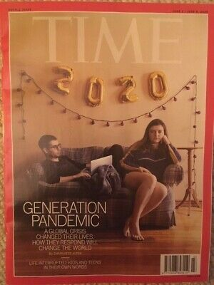 Time Magazine -  DOUBLE ISSUE - Generation Pandemic (June 1st & June 8th 2020)