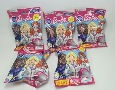5 BARBIE CAREER Mini Dolls You Can Be Anything Blind Bags EASTER BASKET GIFT!!!