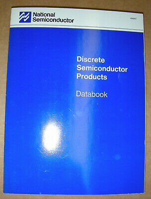 National Semiconductor Discrete Semiconductor Products Data Book 1989