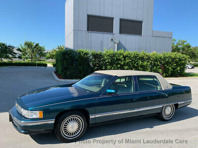 1995 Cadillac DeVille Classic Classic DeVille V8 One Owner Low Miles Clean Carfax Garage Kept Dealer Serviced