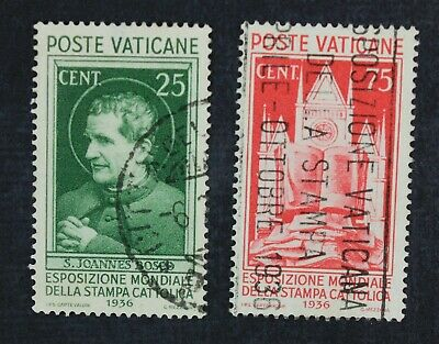 CKStamps: Italy Stamps Collection Vatican City Scott#49 51 Used