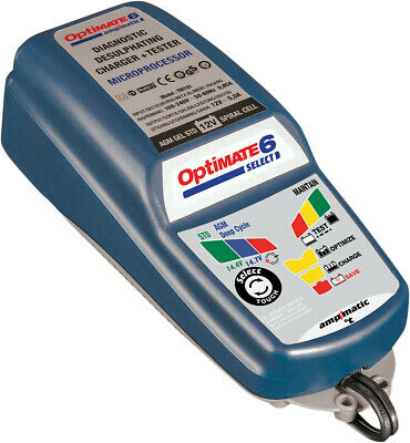 Tecmate optimate 6 Select Batterie Ladegerät/Tester TM-191