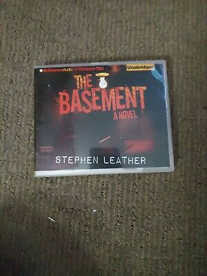 The Basement by Stephen Leather (2012, CD, Unabridged) Used