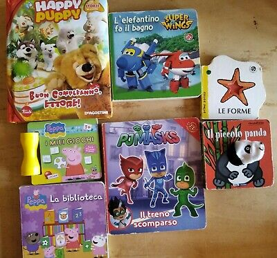 lotto libri bambini pjmask peppa pig trudi super wings