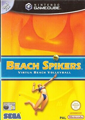 Beach Spikers Nintendo GameCube 3+ Volleyball Game