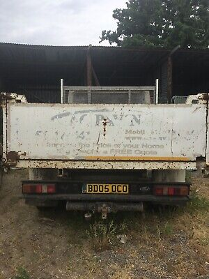 Ford Transit Tipper Alloy Back Spares or Repair No VAT