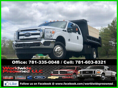 2012 Ford F-350 XL Extended Cab Dump Truck 2012 Ford F-350 F350 XL Extended Cab Dump Truck 4x4 4WD 6.7L Powerstroke Diesel