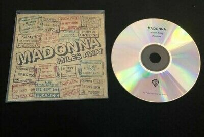 Madonna - Miles Away - Mega Rare Remix CD Promo (4 Tracks)
