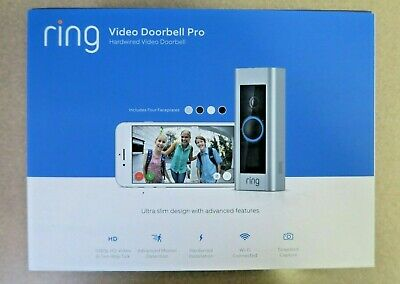 Ring Video Doorbell Pro Hardwired WiFi 1080P HD Camera New w/ Free Shipping