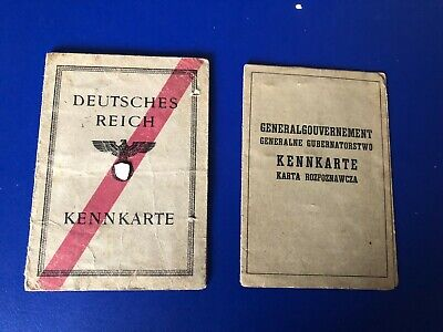 Ww2  German Collection Of 2 Documents  G21