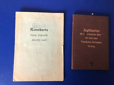 Ww2  German Collection Of 2  Documents  G25