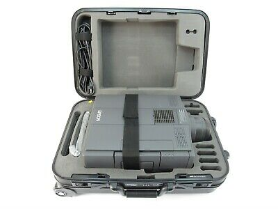 Epson ELP-3000 LCD Projector With Hard Case