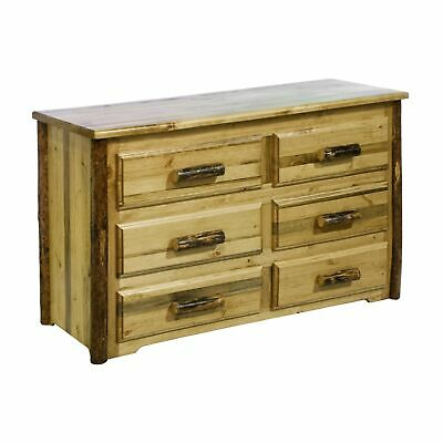 Montana Woodworks Glacier Country Collection 6-drawer Brown 6-drawer
