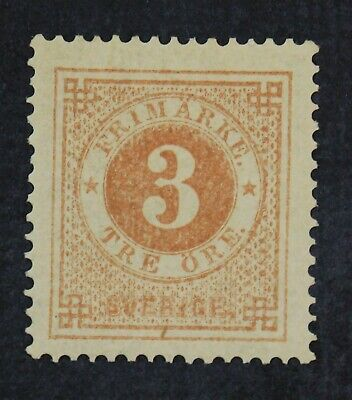 CKStamps: Sweden Stamps Collection Scott#17 Mint HR OG