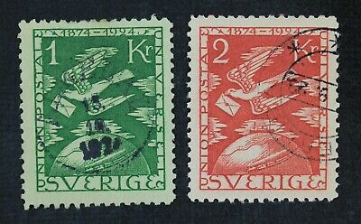 CKStamps: Sweden Stamps Collection Scott#225 226 Used