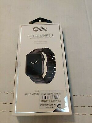 Case-Mate 42Mm Apple Watch Metal Linked Band - Black. Opened Box.