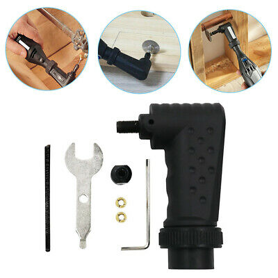 Right Angle Converter Rotary Tool Adapter Attachment for Dremel Electric Grinder