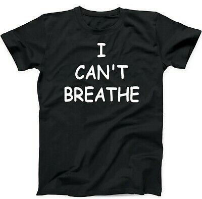 BLACK LIVES MATTER I Cant Breathe Justice for George Floyd Anti Racism Tshirt