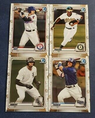 2020 Bowman Chrome Prospects BCP1-BCP150 Complete your Set Free Shipping