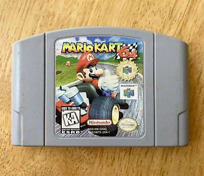 Mario Kart 64 Player's Choice | Nintendo N64 | Tested | See Photos For Condition