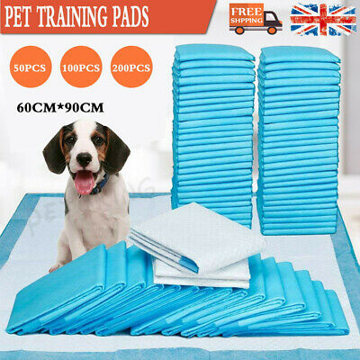 Extra Large Pet Puppy Training Pads Cat Dog Toilet Training Pee Wee Mats 50-200