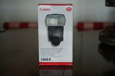 Flash Canon Speedlite 580EX Compatible con DSLR Canon