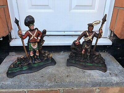 Cast Iron Highlander Doorstops , Door Stop , Door Porters