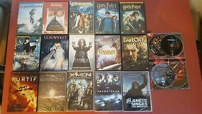 Lot 18 DVD spécial Film Science Fiction Catastrophe Fantastique Marvel Super pal