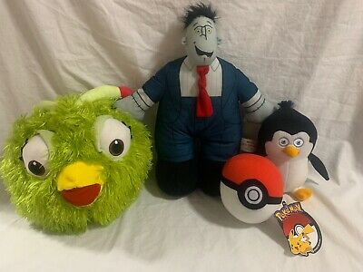 Stuffed Plush Animal Toy Lot