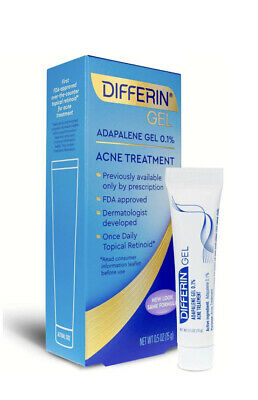 Differin Gel Adapalene Gel 0 1 Acne Treatment 0 07oz Sample Travel Size 7 15 Picclick