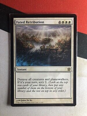 x1 Fated Infatuation MTG Born of the Gods R M//NM English