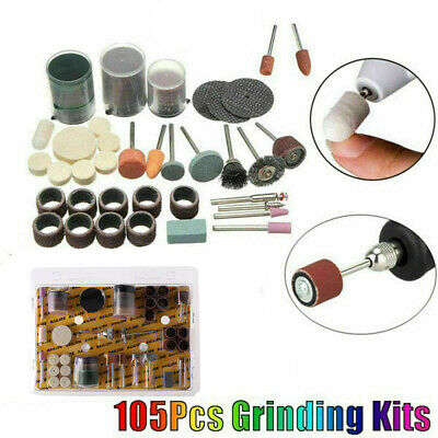 Polishing Accessory Electric Drill Grinder Abrasive Bit Set Rotary Power Tool