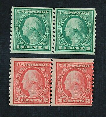 CKStamps: US Stamps Collection Scott#452 Washington Mint NH OG #455 Mint H OG