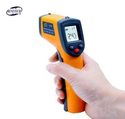 Non contact Digital Laser INDUSTRIAL infrared thermometer IR Laser Point