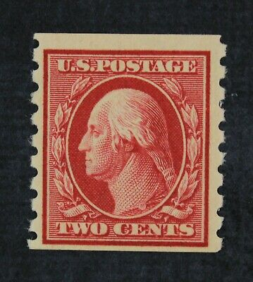 CKStamps: US Stamps Collection Scott#393 2c Washington Mint H OG 24 1/2mm
