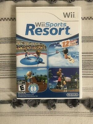 Wii Sports Resort (Nintendo Wii) Bowling, Golf, Wakeboarding, Swordplay, +8 More