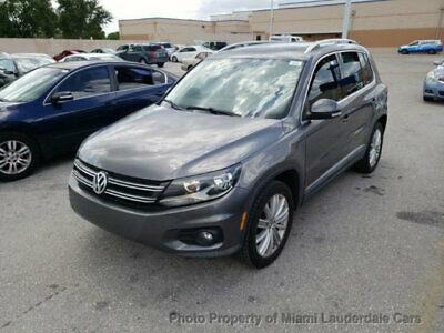 2012 Volkswagen Tiguan 2WD 4dr Automatic SE w/Sunroof & Nav Volkswagen Tiguan SE Sunroof Leather Navi Garage Kept Clean Carfax Fully Loaded!