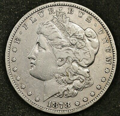 "1878-s Morgan Silver Dollar.  VAM ""Long Nock"".  V.F.  149098"
