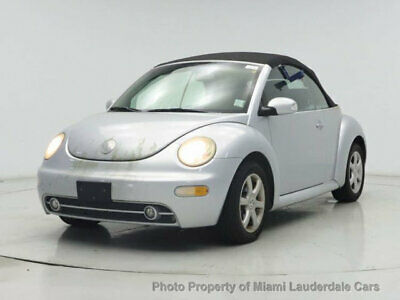 2005 Volkswagen New Beetle Convertible 2dr GLS Turbo Automatic VW New Beetle GLS Turbo Convertible Ultra Low Miles Clean Carfax Fully Loaded